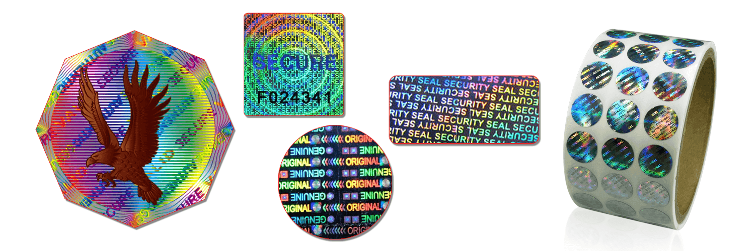 Security Hologram Labels Stickers